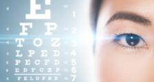 視力検査のマークと眼