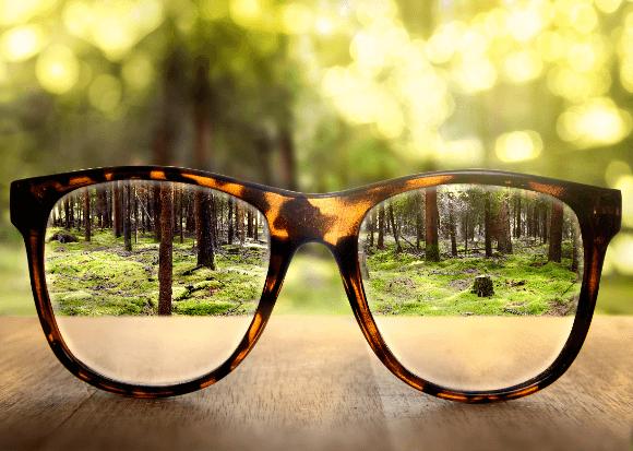 眼眼から見える自然