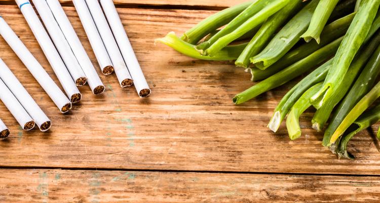 タバコと野菜
