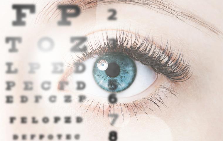 眼とアルファベット